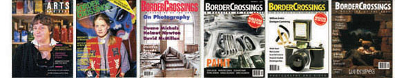 BorderCrossings Magazine covers